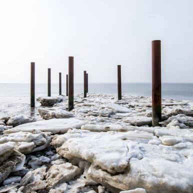 Winter am Hjerting Strand | Vadehavskysten